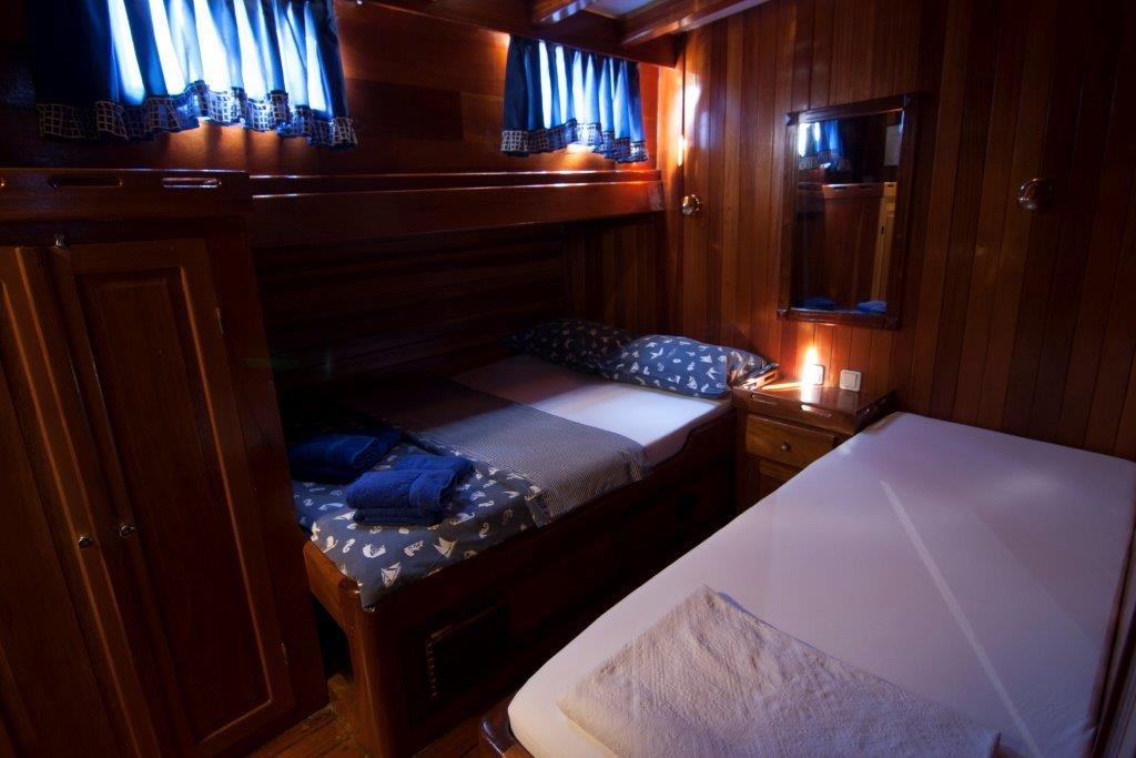 Gulet Andi Star double bed cabin (1)