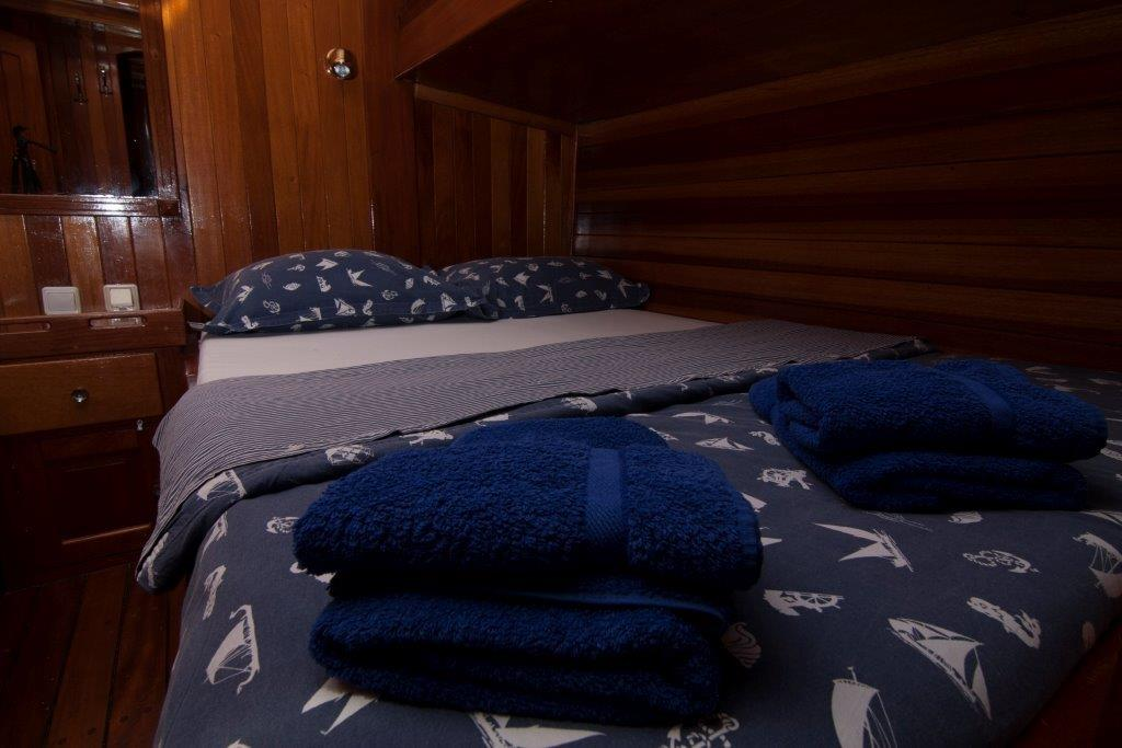 Gulet Andi Star double bed cabin (2)