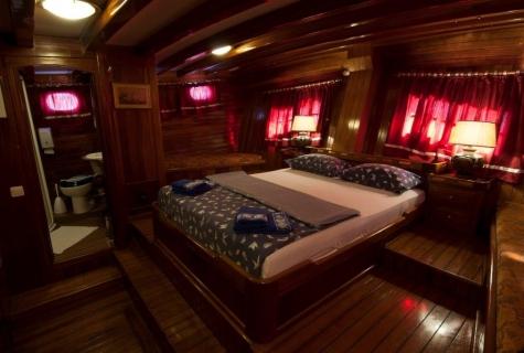 Gulet Andi Star master cabin