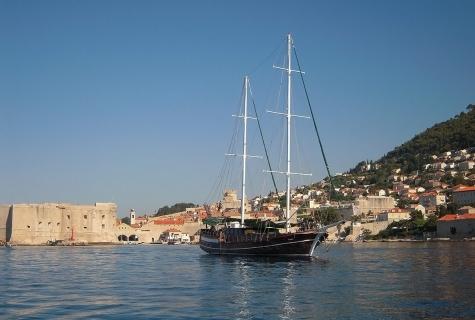 Anna Marija in Dubrovnik