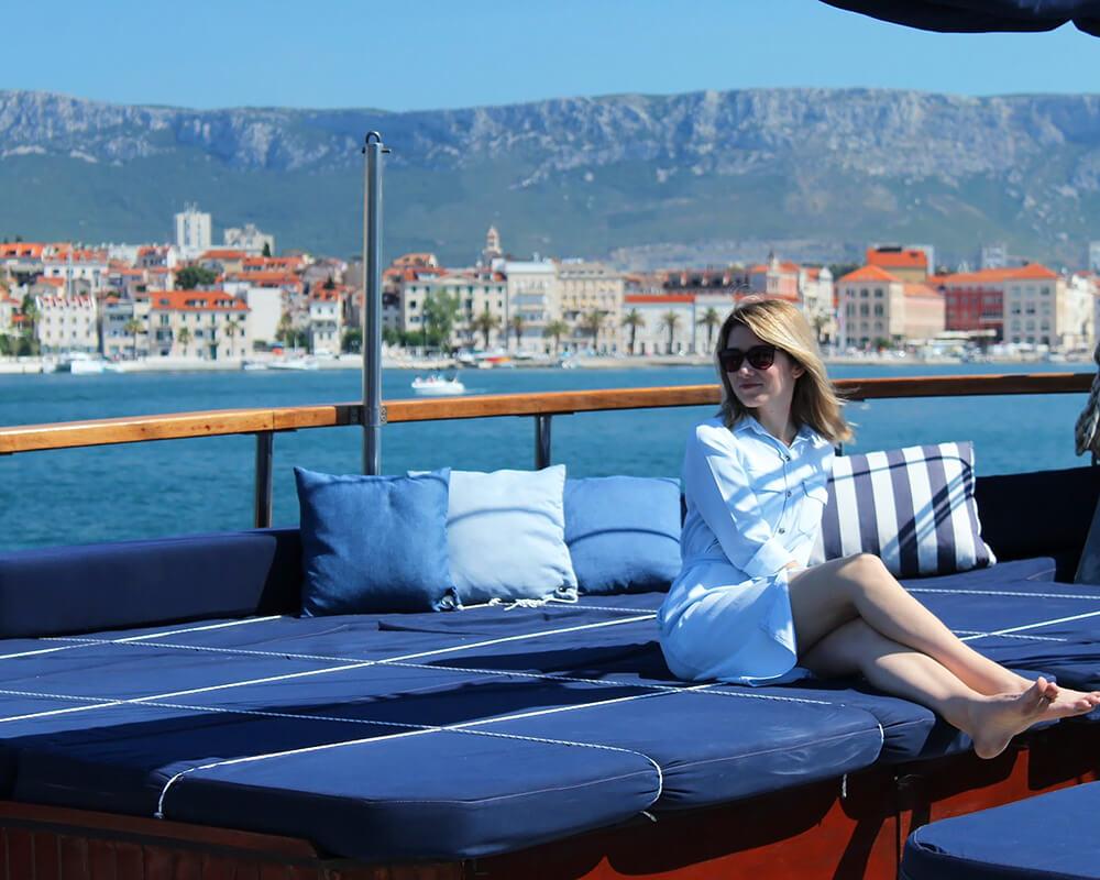 Enjoying the cruise