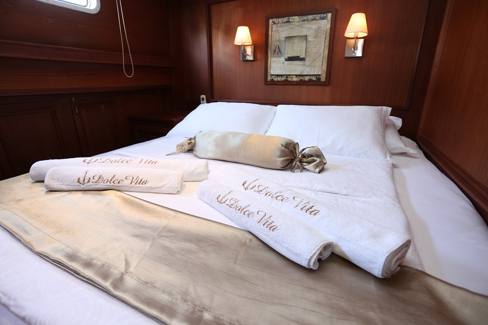 Bedding on Dolce Vita