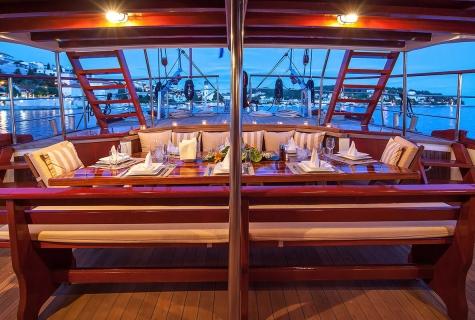 Romanca's Aft Deck