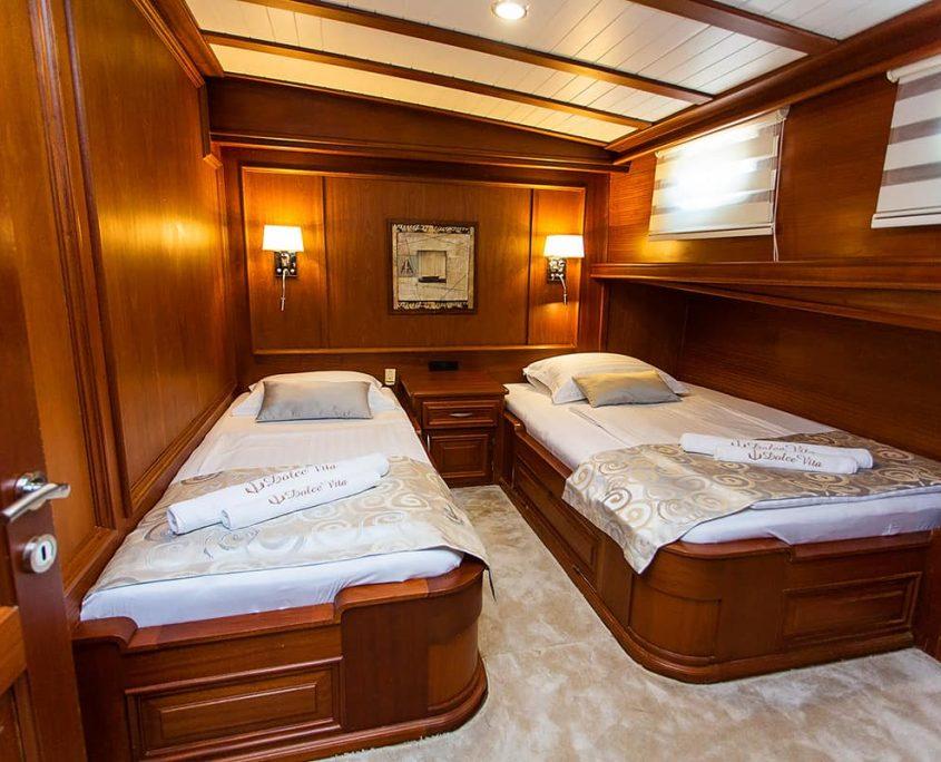 DOLCE VITA Twin cabin