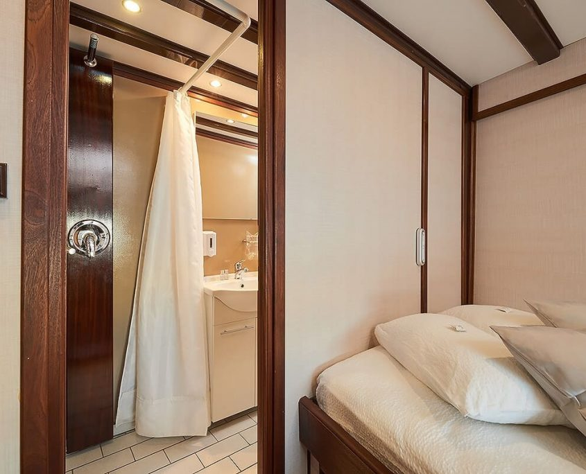 Double Cabin and Bathroom