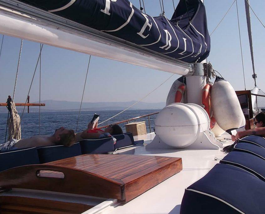 PERLA Sun deck