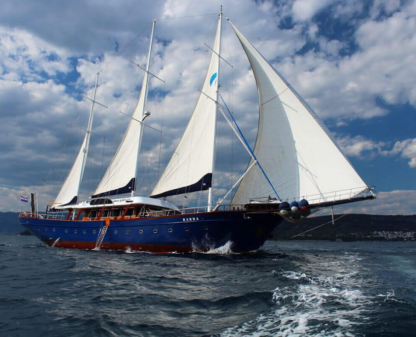 Barba with Sails