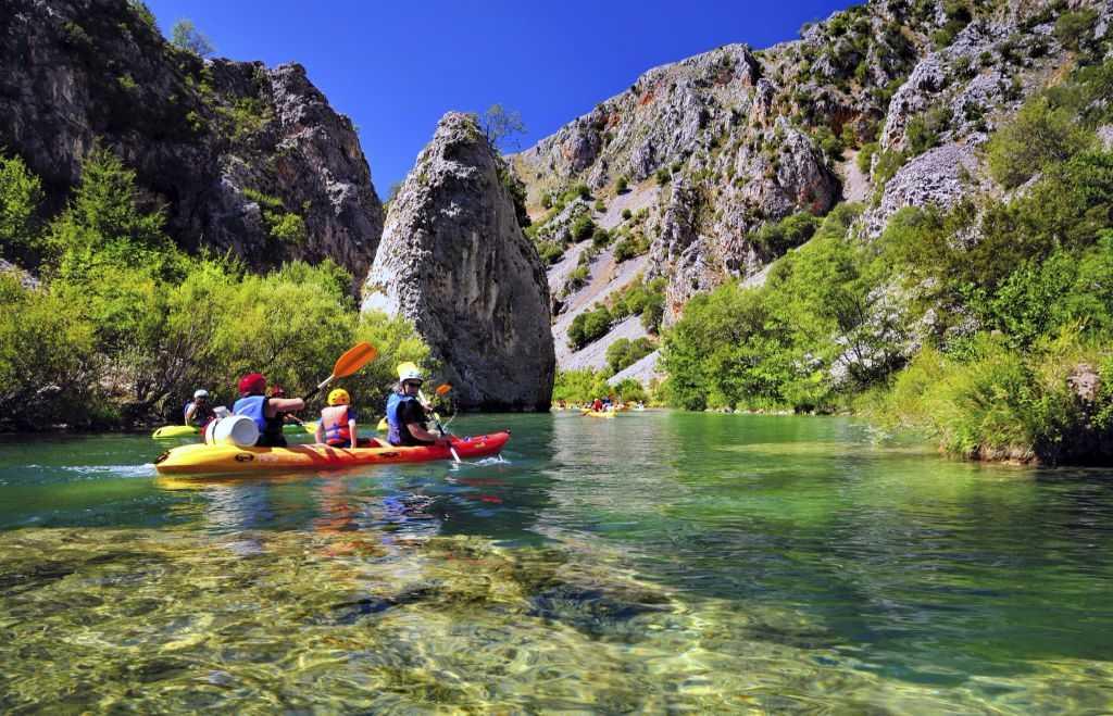 Zadar, canoeing