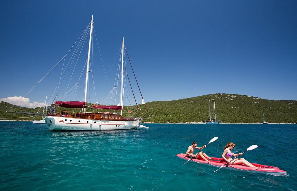 Gulet cruise activities