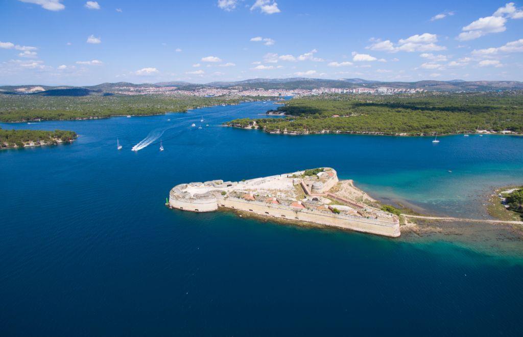St. Nicholas Fortress, Šibenik archipelago