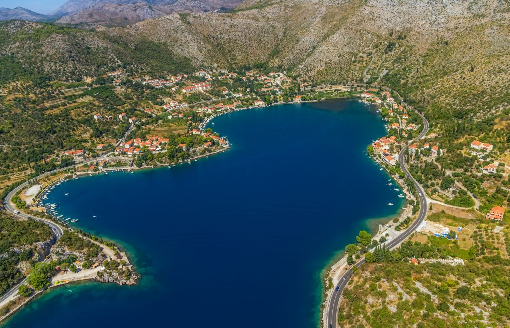 Zaton lagoon near Dubrovnik