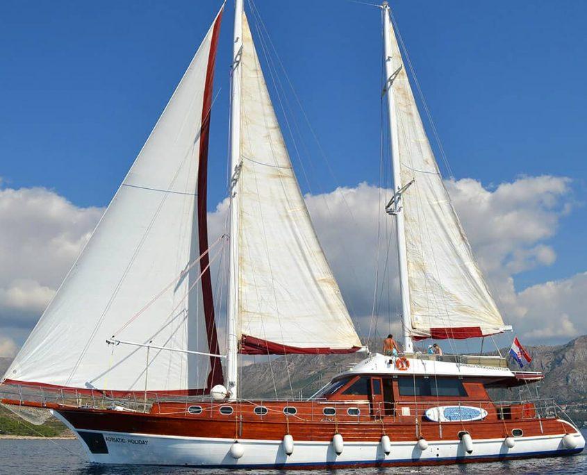 Gulet Adriatic Holiday sailing