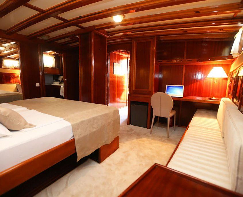 Master cabin on Kadena
