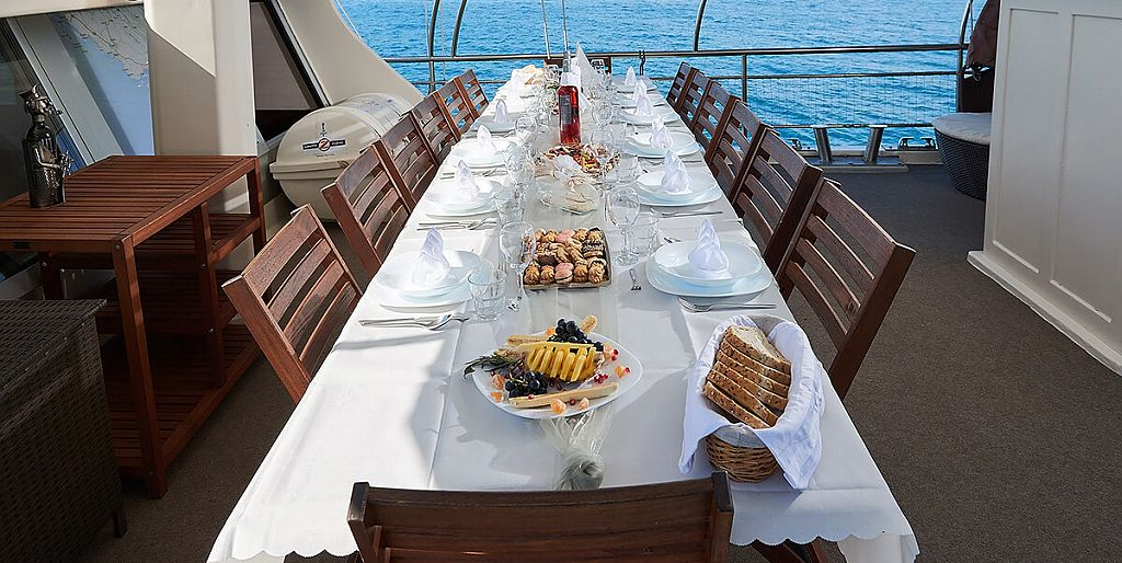 Dining on Deck