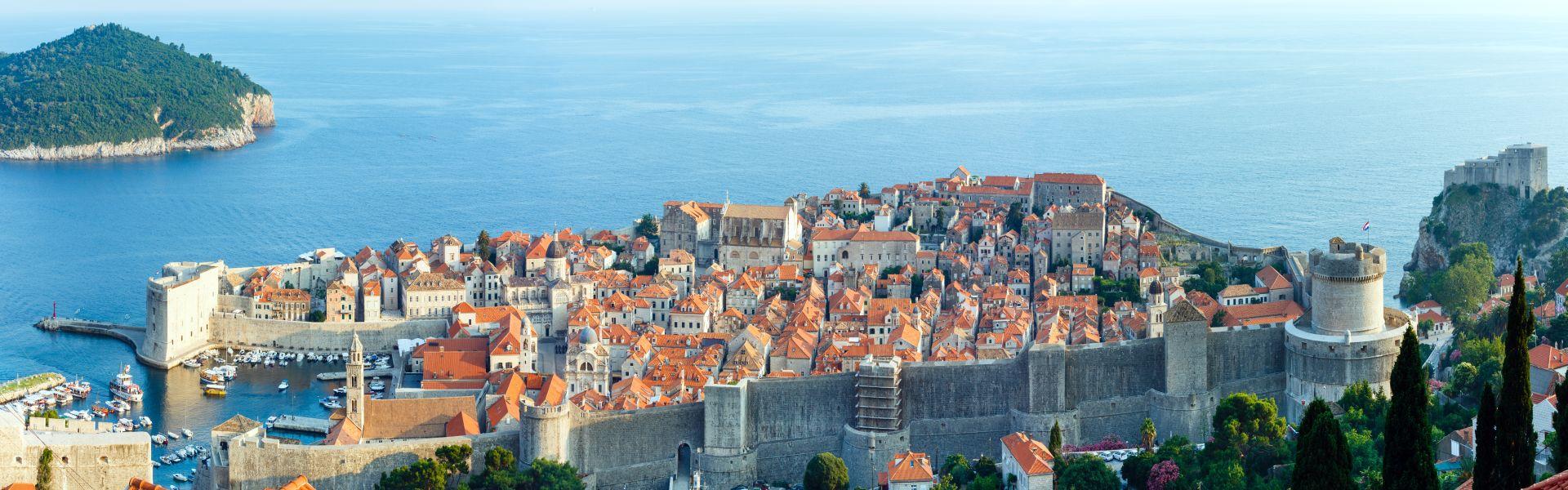 Dubrovnik Old Town Panorama (Croatia)