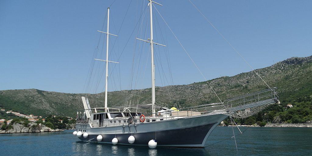 Gulet Nautilus anchored