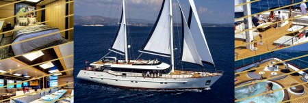 Luxury sailing yacht Navilux