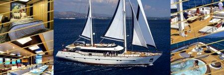 Luxury sailing yacht Navilux