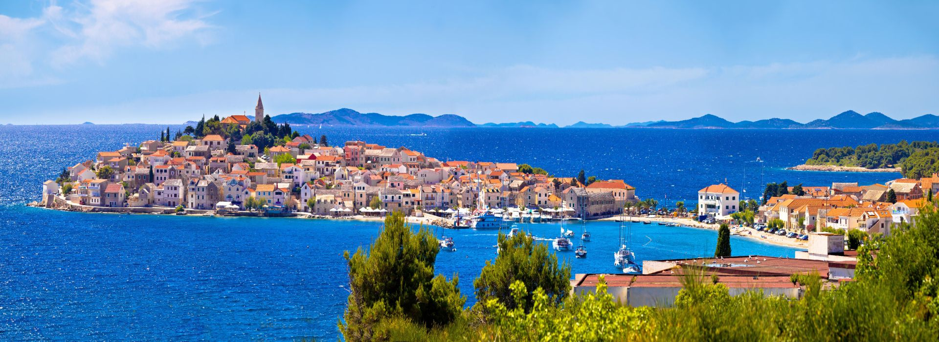Town Of Primošten Panoramic View
