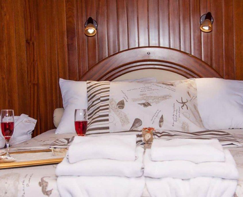 Master cabin on Nostra Vita