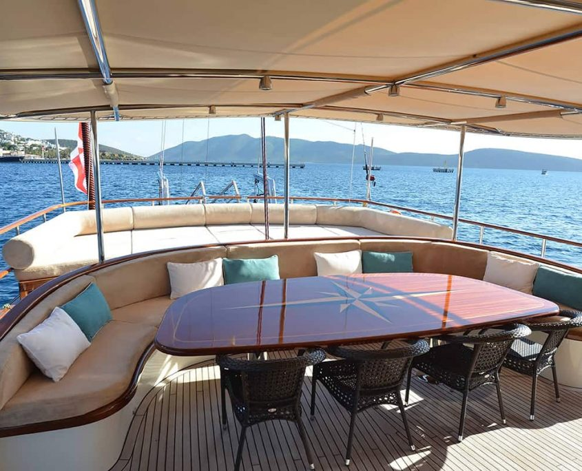 DRAGON FLY Aft deck