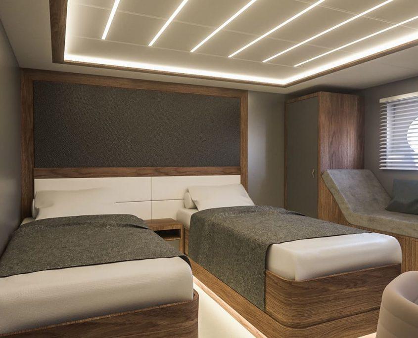 CORSARIO Twin cabin