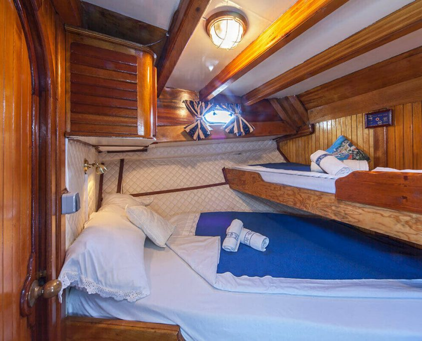 LUOPAN Double Cabin with Bunk Bed