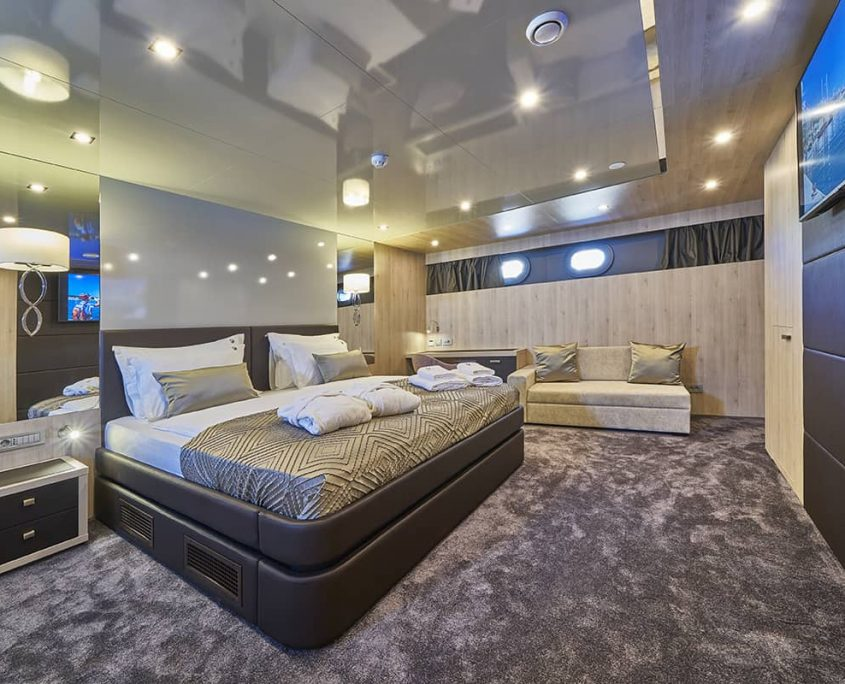 DALMATINO Master cabin