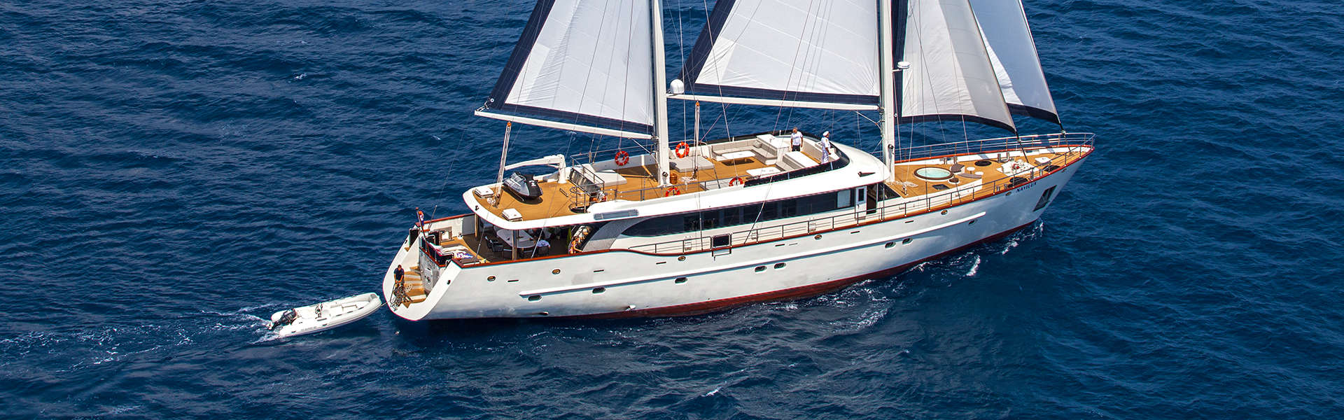 LUXURY YACHT CHARTER CROATIA Header image