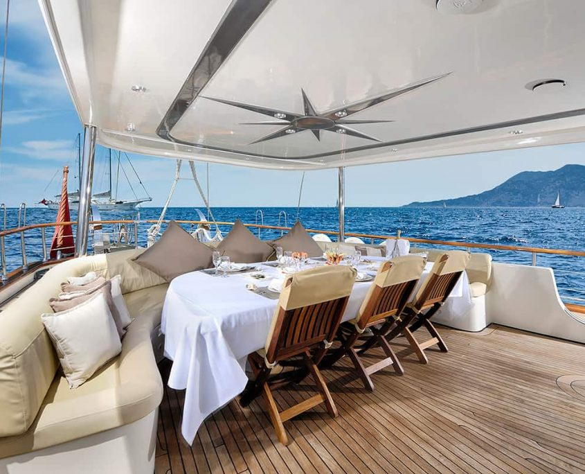 ALESSANDRO Aft deck
