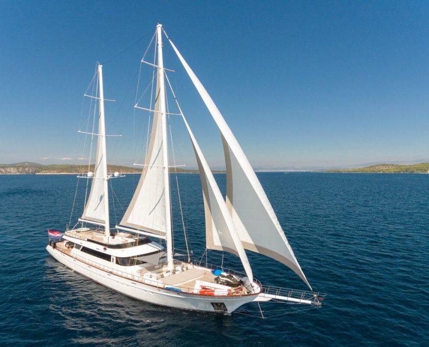 Luxury sailing yacht Lady Gita from Croatia