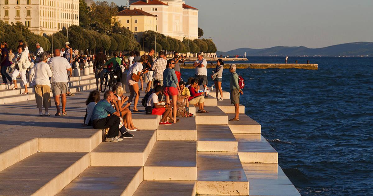 Sea organs at Zadar